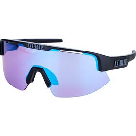 Bliz Matrix M12 Glasses for Small Faces matt black/violet with blue multi